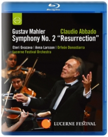 Mahler: Symphony No. 2 'Resurrection' (Abbado), Blu-ray