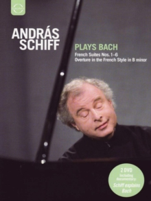 Andras Schiff: Andras Schiff Plays Bach, DVD  DVD
