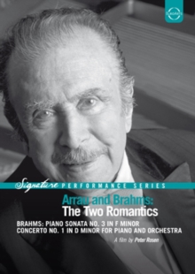 Arrau and Brahms - The Two Romantics, DVD