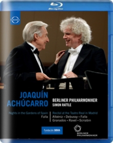 Joaquín Achúcarro /Berliner Philharmoniker (Rattle), Blu-ray  BluRay