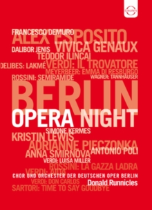 Berlin Opera Night, DVD