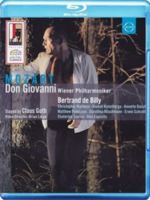 Don Giovanni: Salzburg Festival (De Billy), Blu-ray