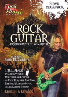 Rock Guitar - From Beginner to Advanced, DVD