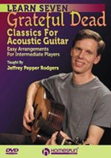 Learn Seven Grateful Dead Classics for Acoustic Guitar, DVD