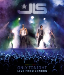 JLS: Only Tonight - Live in London, Blu-ray