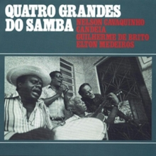 Quatro Grandes Do Samba, CD / Album Cd