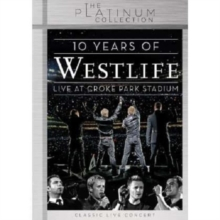Westlife: 10 Years of Westlife - Live at Croke Park Stadium, DVD  DVD
