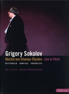 Grigory Sokolov: Live in Paris, DVD