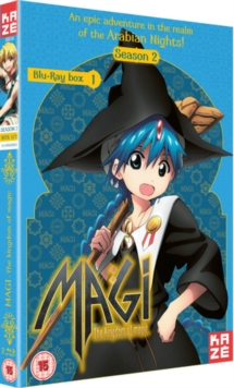 Magi - The Kingdom of Magic: Season 2 - Part 1, Blu-ray