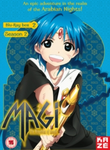 Magi - The Kingdom of Magic: Season 2 - Part 2, Blu-ray