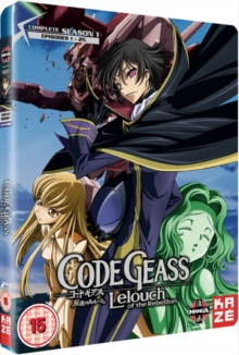 Code Geass: Lelouch of the Rebellion - Complete Season 1, Blu-ray