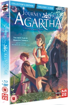 Journey to Agartha, Blu-ray