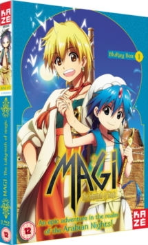 Magi - The Labyrinth of Magic: Season 1 - Part 1, Blu-ray