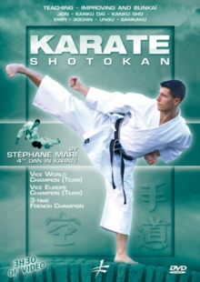 Shotokan Karate: Teaching Improving and Bunkai With Stéphane Mari, DVD