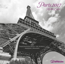 2017 PARIS 30 X 30 GRID CALENDAR,
