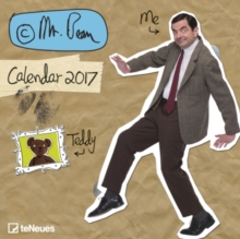 2017 MR BEAN 30 X 30 GRID CALENDAR,