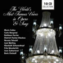 The World's Most Famous Voices in Opera & Song, CD / Box Set