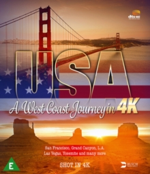 USA - A West Coast Journey in 4K, Blu-ray