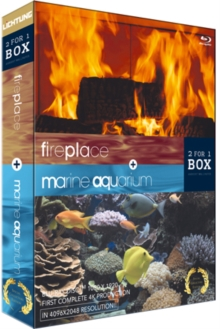 Aquarium and Fireplace, Blu-ray  BluRay