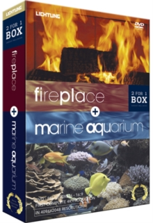 Aquarium and Fireplace, DVD  DVD
