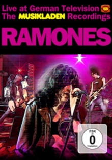 The Ramones: The Musikladen Recordings, DVD DVD