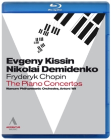 Chopin: The Piano Concertos (Kissin/Demidenko), Blu-ray