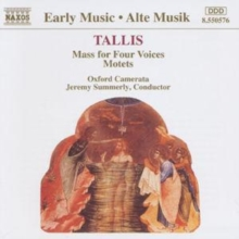 Tallis/ Music for Four Voices, CD / Album
