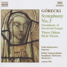 Gorecki: Symphony No. 3, CD / Album