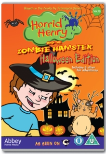 Horrid Henry: Horrid Henry and the Zombie Hamster, DVD