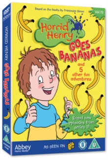 Horrid Henry: Horrid Henry Goes Bananas, DVD
