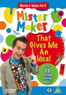 Mister Maker: Volume 5, DVD