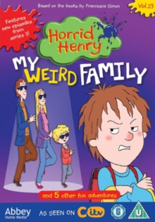 Horrid Henry: My Weird Family, DVD