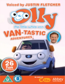 Olly the Little White Van: Van-tastic Adventures, DVD