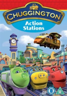 Chuggington: Action Stations, DVD  DVD
