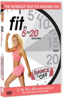 Fit in 5 to 20 Minutes: Dance It Off, DVD  DVD