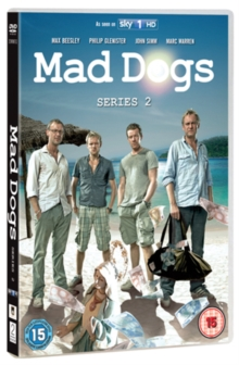 Mad Dogs: Series 2, DVD  DVD