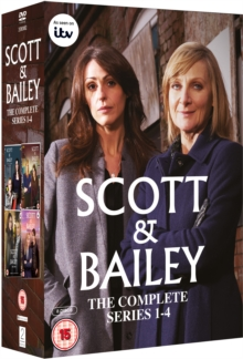 Scott and Bailey: Series 1-4, DVD