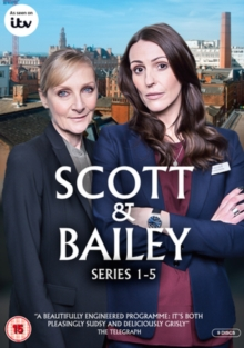 Scott and Bailey: Series 1-5, DVD