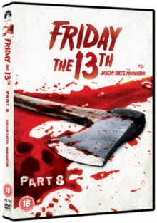 Friday the 13th: Part 8, DVD