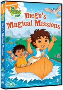 Go Diego Go!: Diego's Magical Missions, DVD