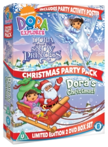 Dora the Explorer: Dora's Christmas Party Pack, DVD