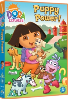 Dora the Explorer: Puppy Power, DVD  DVD