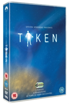 Taken: Complete Series, DVD