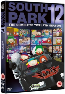 South Park: Series 12, DVD