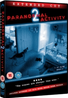 Paranormal Activity 2: Extended Cut, DVD DVD