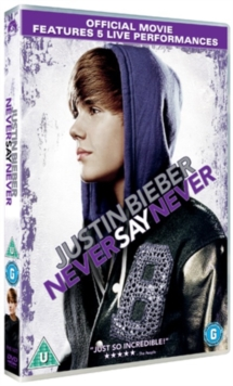 Justin Bieber: Never Say Never, DVD