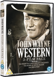 John Wayne: Western Collection, DVD