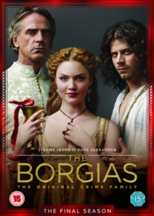 The Borgias: Season 3, DVD DVD