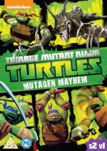 Teenage Mutant Ninja Turtles: Mutagen Mayhem - Season 2 Volume 1, DVD