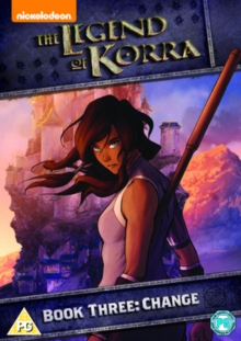 The Legend of Korra: Book 3 - Change, DVD DVD